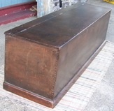 LARGE ENGLISH COFFER/CHEST